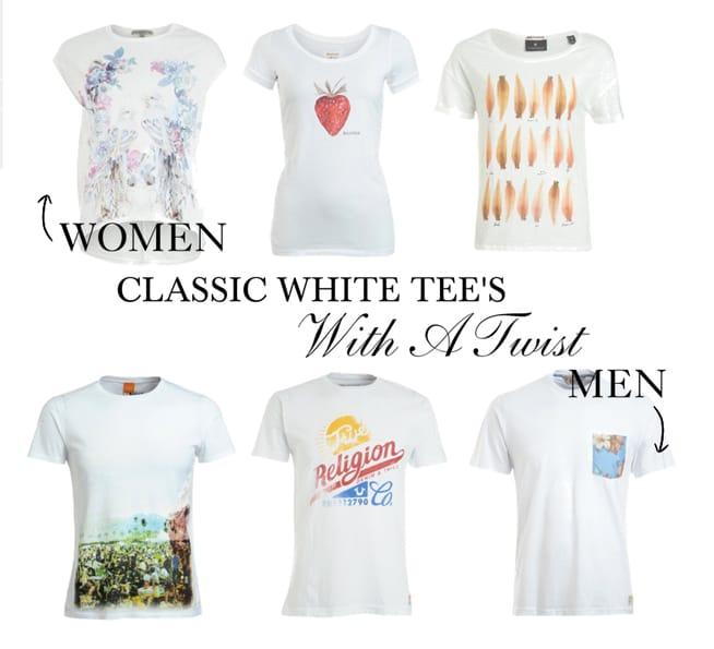 CLASSIC WHITE TEE