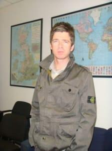 Noel Gallagher Stone Island