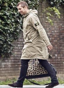 Liam Gallagher Stone Island parka