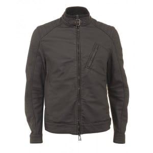 Belstaff Jacket Black H Racer Biker Jacket
