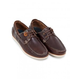 Barbour Lifestyle, Brown Leather 'Flinders' Deck Shoes
