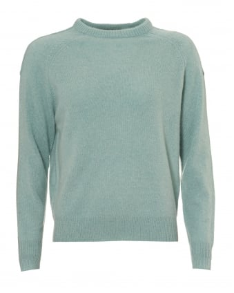 Womens Moni Jumper, Crew Neck Canal Soft Mint Sweater