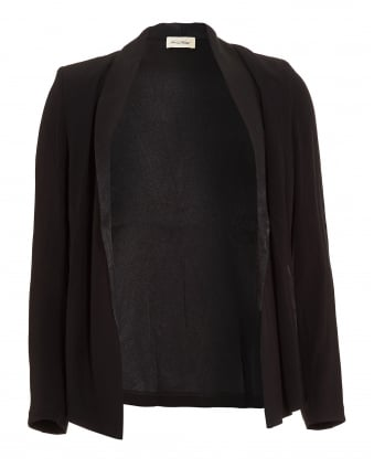 Womens Holiester Black Jacket