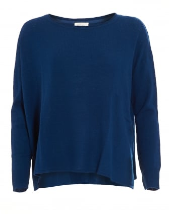 Womens Svansky Oceanic Blue Jumper