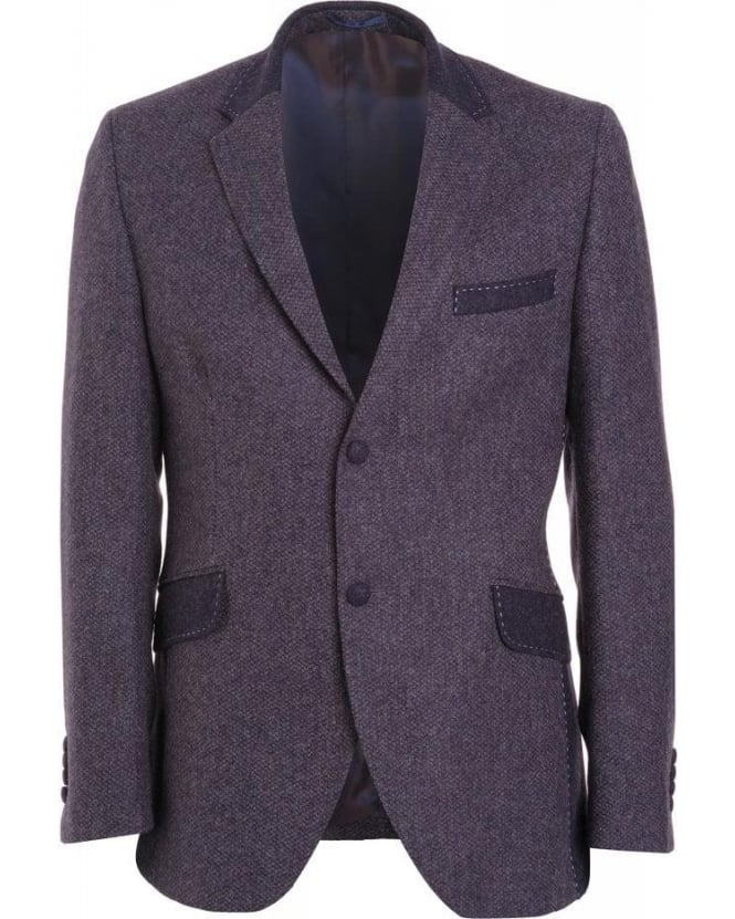 Holland Esquire Amethyst Purple Chunky Birdhop Jacket