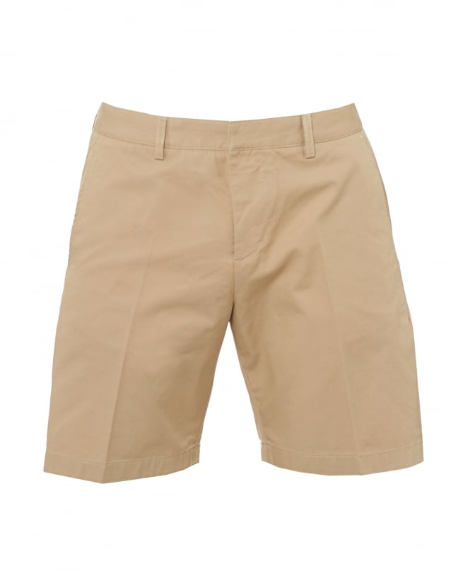 Ami Mens Bermuda Shorts, Tailored Beige Shorts