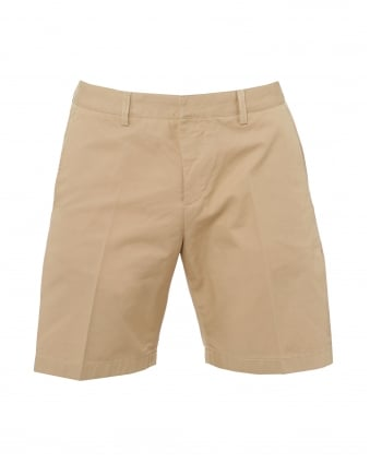Mens Bermuda Shorts, Tailored Beige Shorts