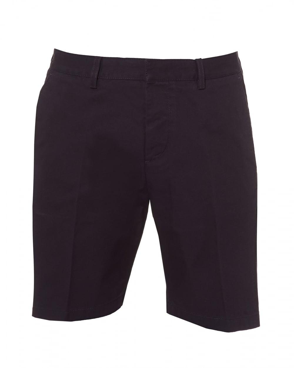 Mens Bermuda Shorts, Tailored Navy Blue Shorts