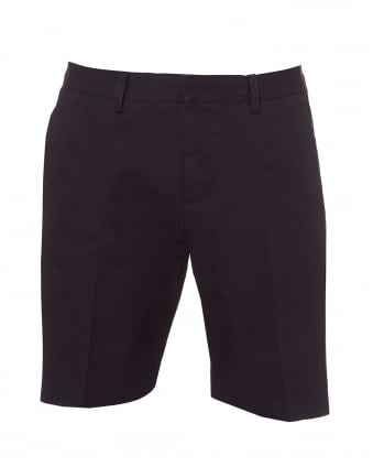 Mens Bermuda Shorts, Tailored Navy Blue Shorts