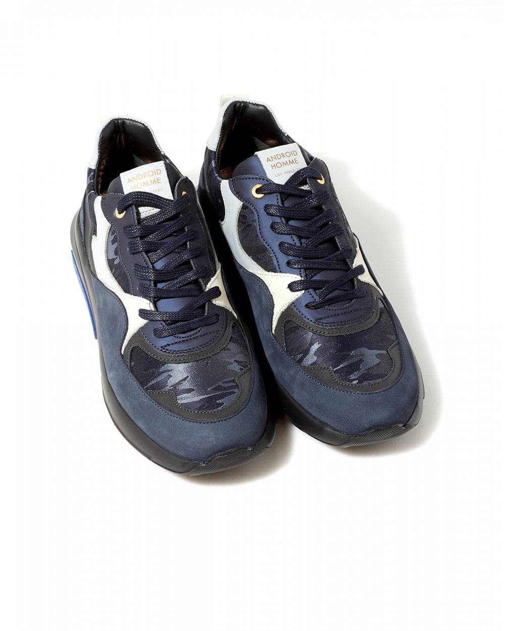 65233d934128 Android Homme Mens Sky Metallic Camouflage Malibu Runner Sneakers