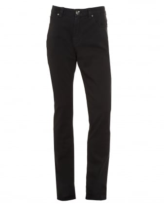 Mens Jeans, Black Slim Fit Chinos