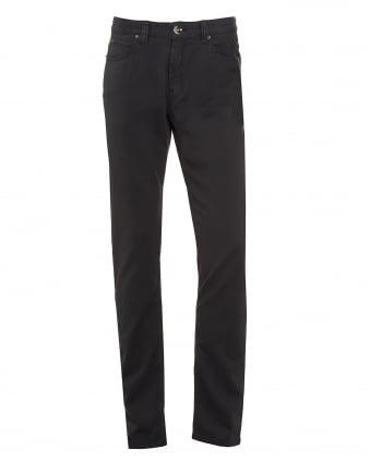 Mens Jeans, Charcoal Grey Slim Fit Chinos