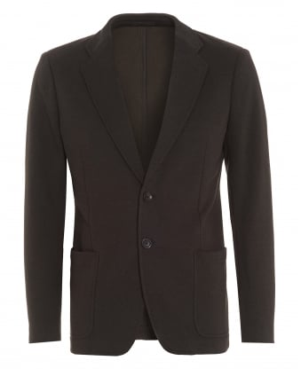 Mens Single Breast Grey Blazer Jacket