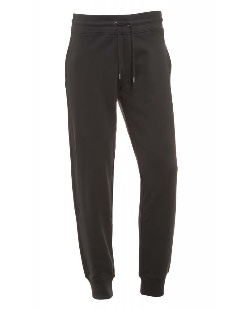 Armani Jeans Jogging Bottoms Navy Blue Cuffed Track Pants
