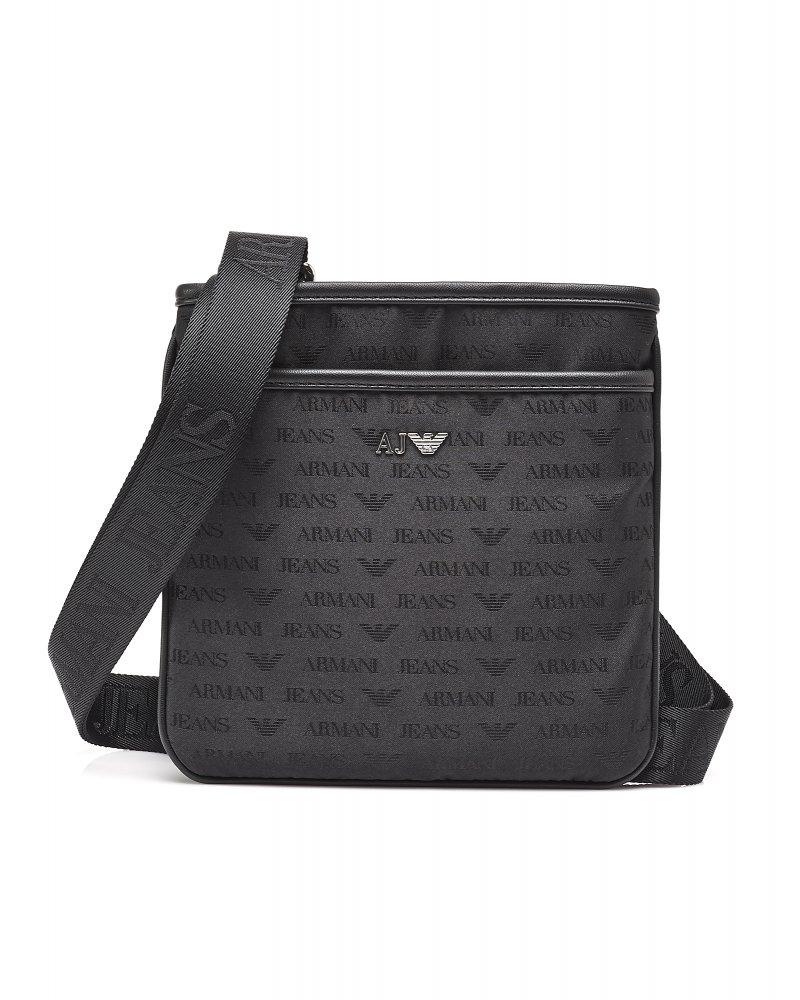 1eff5a0075ce Armani Jeans Logo Messenger Bag