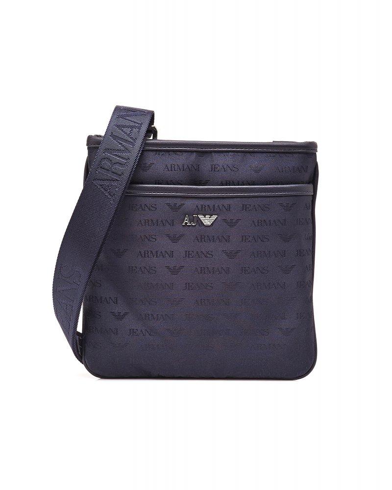 Armani Jeans Logo Messenger Bag a6fe2d301feea