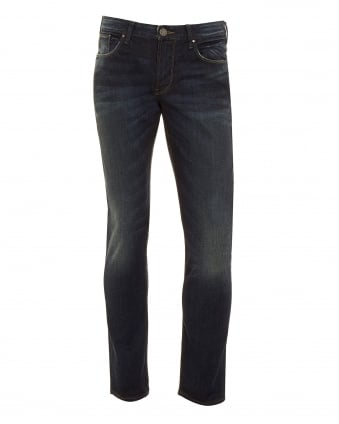 Mens Dirty DK Jean Dark Dirty Slim Fit