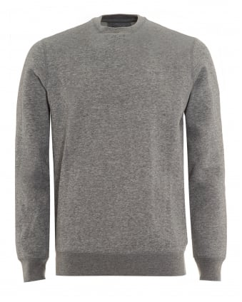Mens Grey Crew Neck Sweatshirt