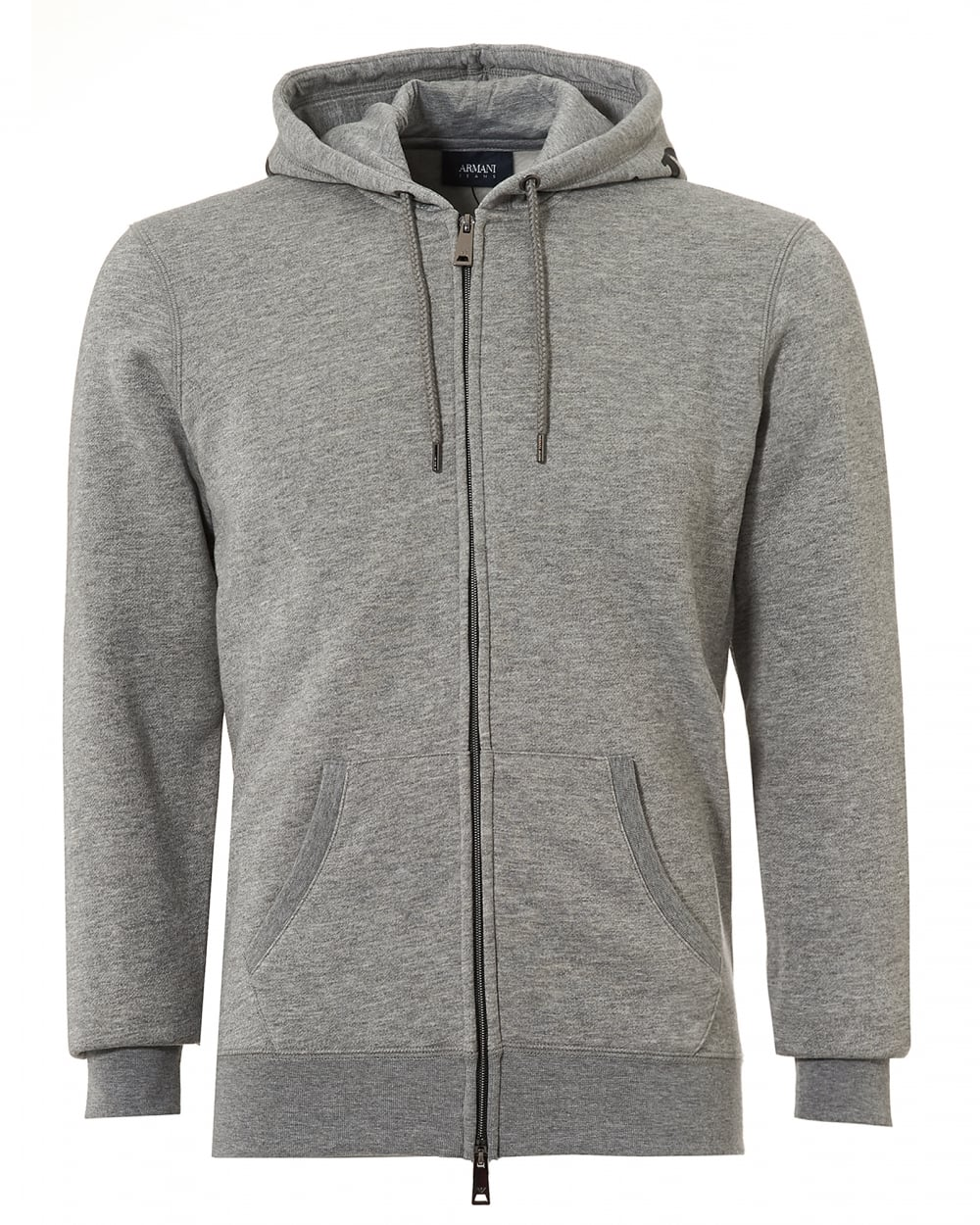 Armani Jeans Mens Hood Logo Hoodie f020033e6d27