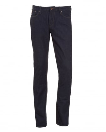 Mens J06 Jean Slim Fit Dark Indigo Denim