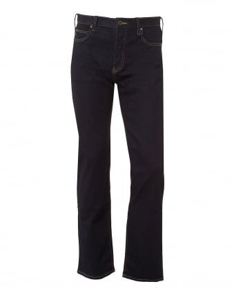 Mens J21 Jeans, Slim Fit Dark Clean Denim