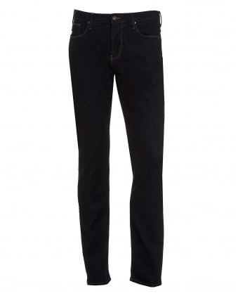 Mens J45 Jean, Slim Fit Dark Clean Denim