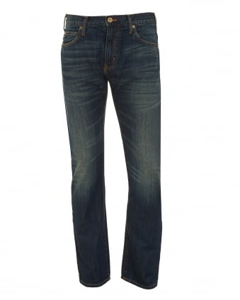 Mens J45 Jeans, J21 Thigh Dark Whisker Denim