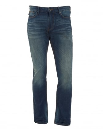 Mens Jeans, Slim Fit Mid Vintage Denim
