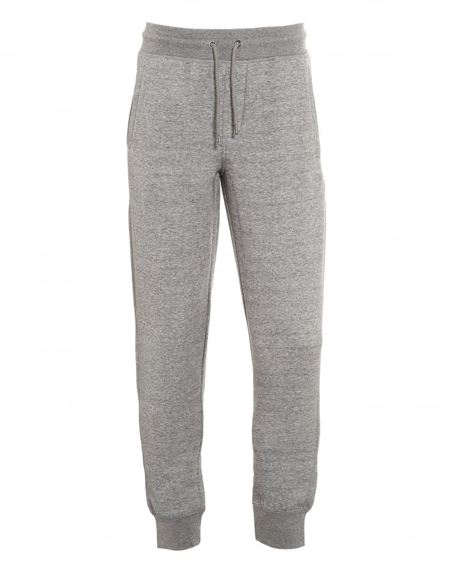 Armani Jeans Mens Joggers, Basic Grey Cuffed Track Pant
