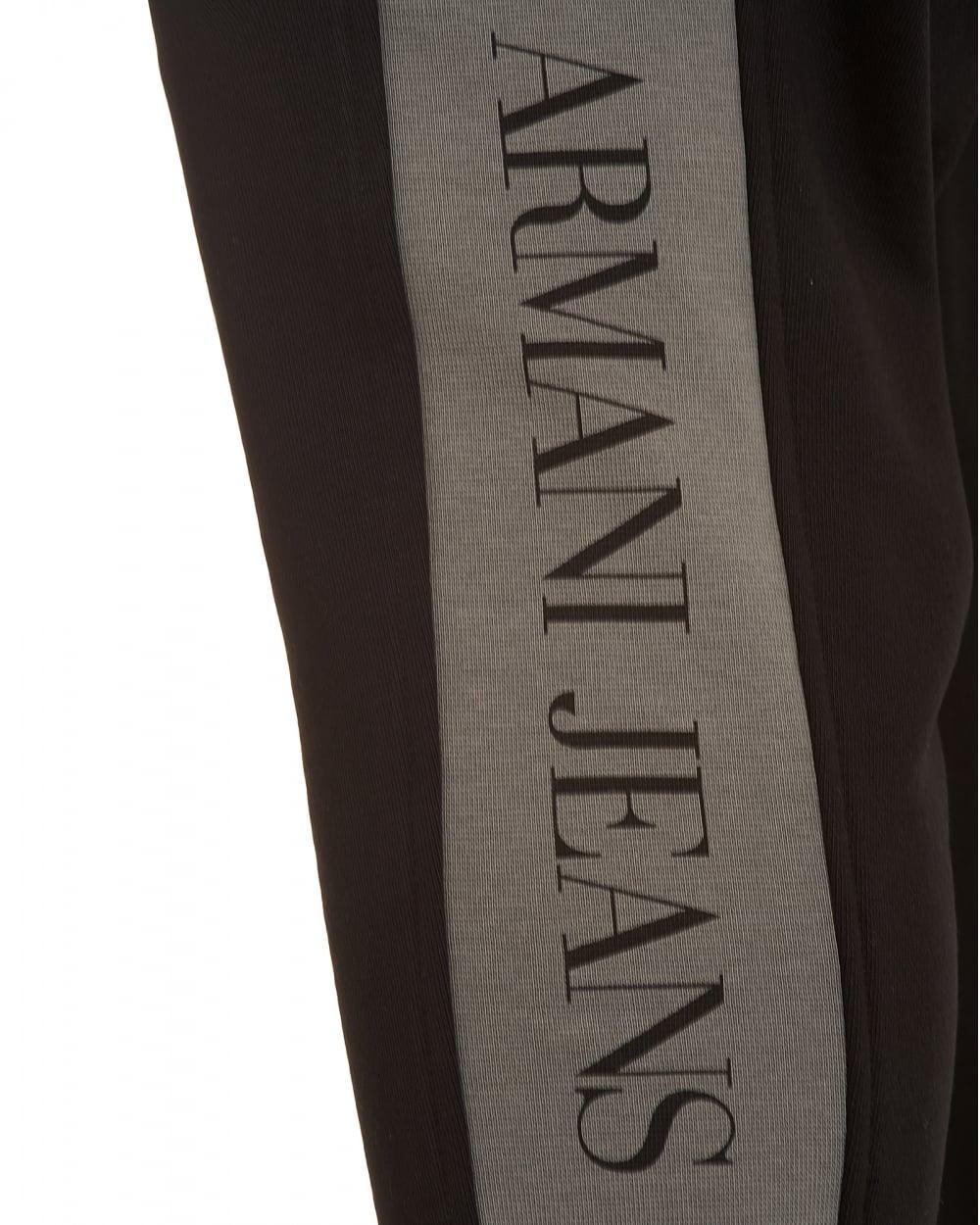 mens armani tracksuit bottoms