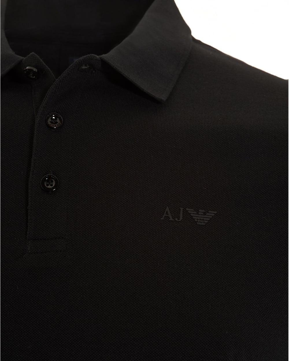 black armani polo