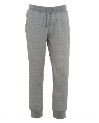 Mens Sweatpants, Cuffed Drawstring Grey Trackpants