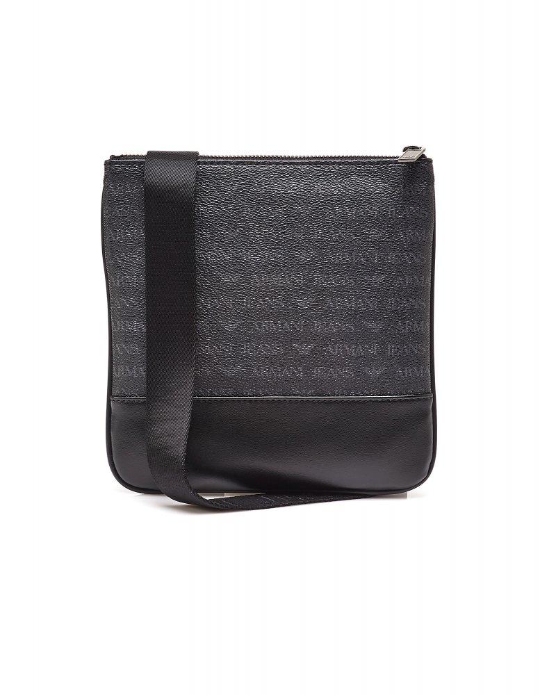Armani Jeans Small Black Messenger Bag ad1a983eccb6c