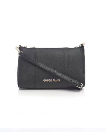 Womens Across Body Small Black Bag