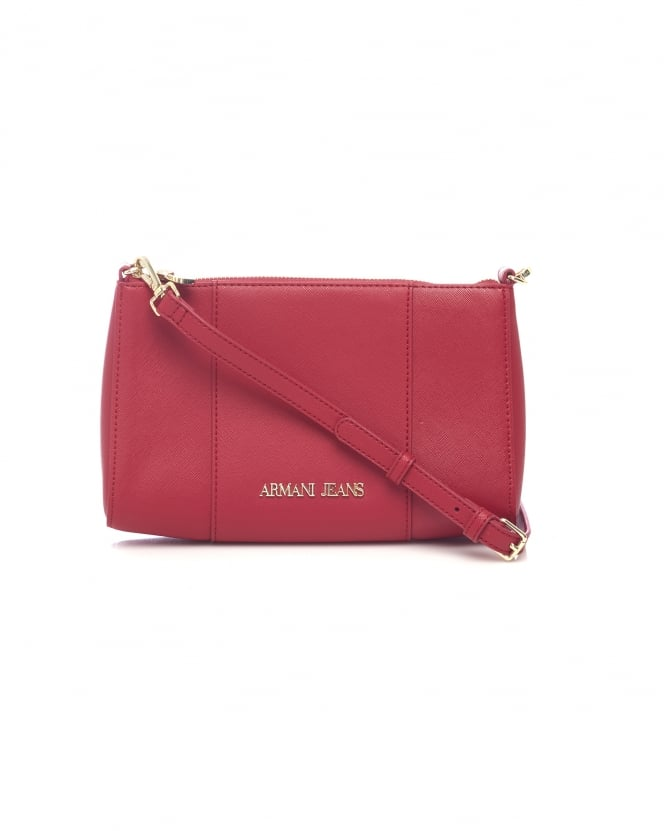 105be412e8b1 01753895395 13850 544cc857 SL98BQ 494006939. armani jeans womens across  body small red bag