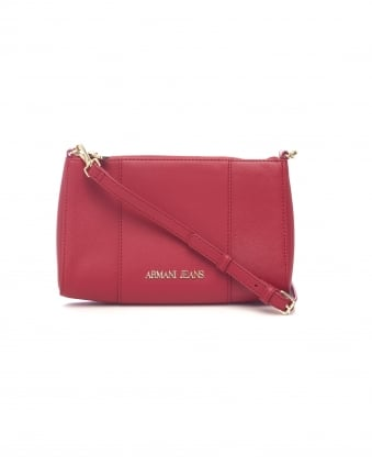 Womens Across Body Small Red Bag
