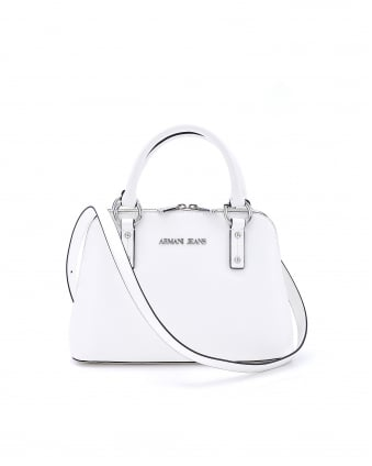 Womens Carrying Handle Baggatti White Bag