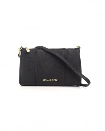 Womens Small Crossbody Black Bag