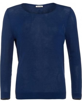 Atlantic Navy Alpena Long Sleeve Jumper