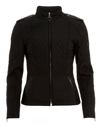 International Black Streak Womens Extractor Biker Jacket