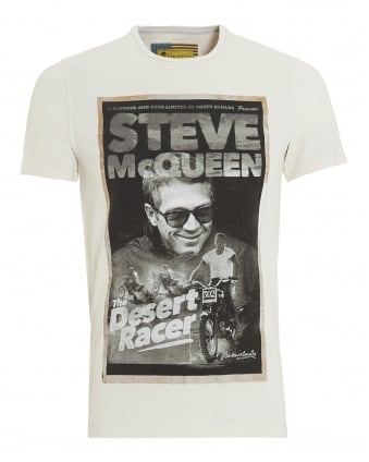 International Mens Desert T-Shirt, Steve McQueen Neutral Tee