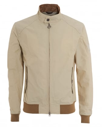 International Mens Jacket, Harrington Fog Beige Coat