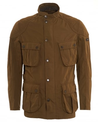International Mens Lockseam Jacket, Moto Dark Sand Coat