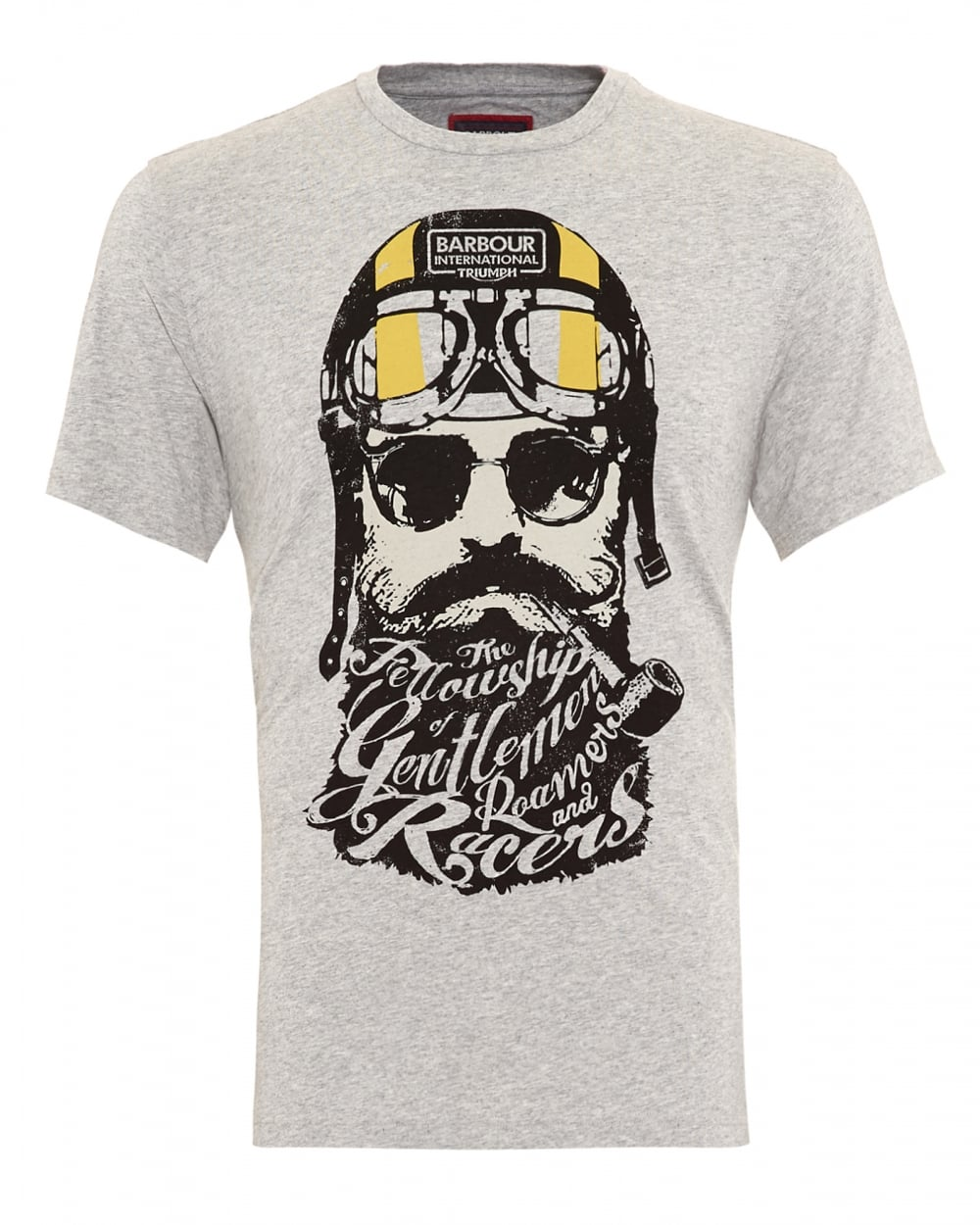 Barbour international triumph mens t shirt gentlemen for T shirts online uk