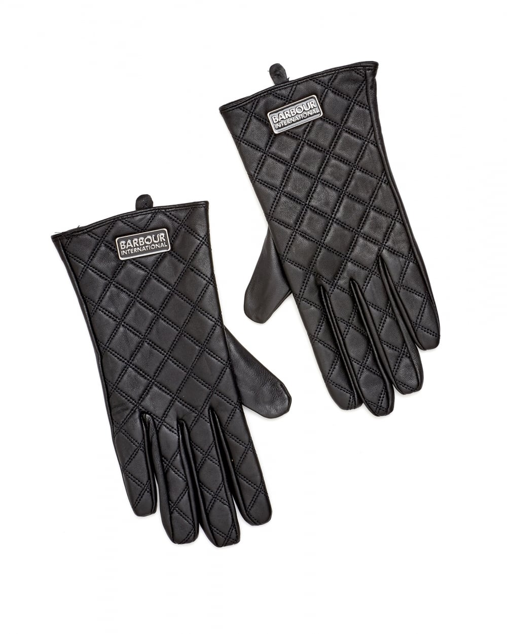Blue leather gloves ladies uk - International Womens Burton Tourer Quilted Leather Gloves