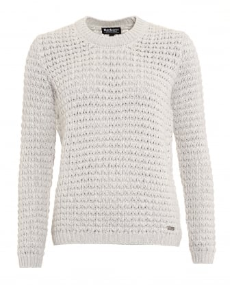 International Womens Enduro Jumper, Beige Tourer Chunky Knit Sweater