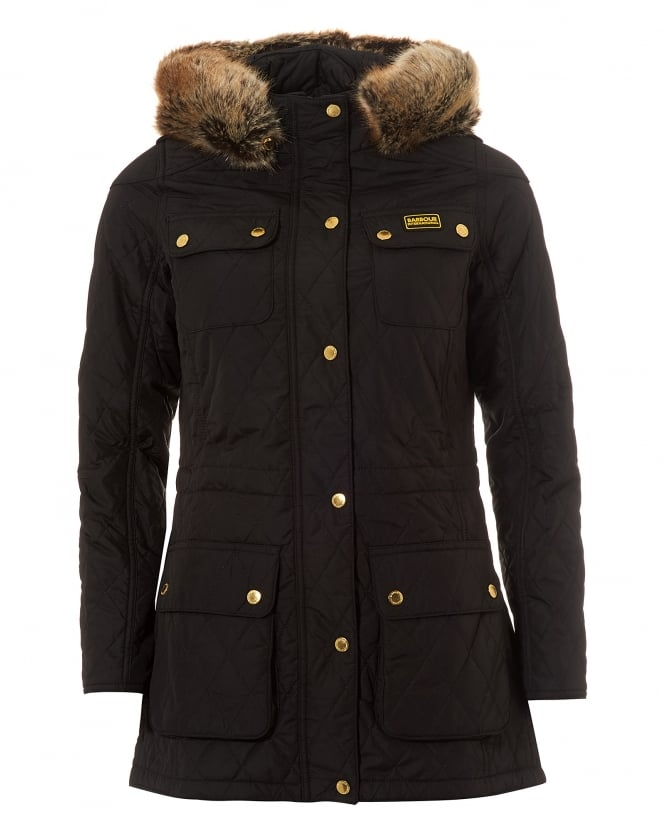 Womens barbour jacket with hood