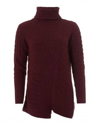 International Womens Mondello Jumper, Roll Collar Barolo Sweater