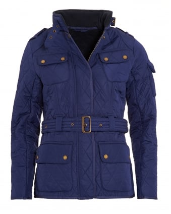 International Womens Polarquilt Jacket, Royal Blue Quilted Tourer Jacket