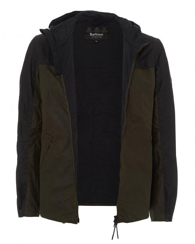 Barbour Mens Archive Olive Lanark Waxed Jacket